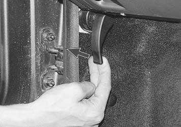 Как открыть рено логан капот