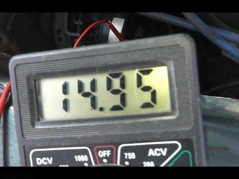 Поднять напряжение на генераторе с помощью диода