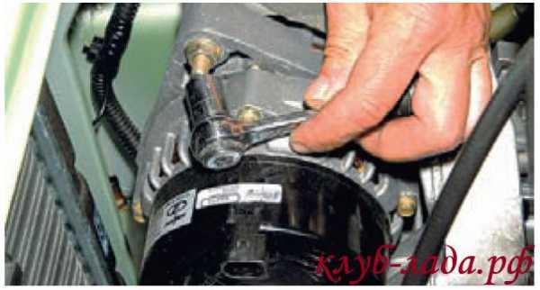 kak snyat generator na kaline 16 klapanov s kondicionerom 17 - Установка генератора лада калина