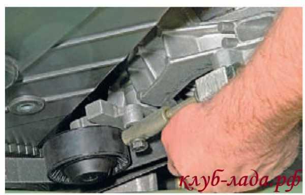 kak snyat generator na kaline 16 klapanov s kondicionerom 19 - Установка генератора лада калина